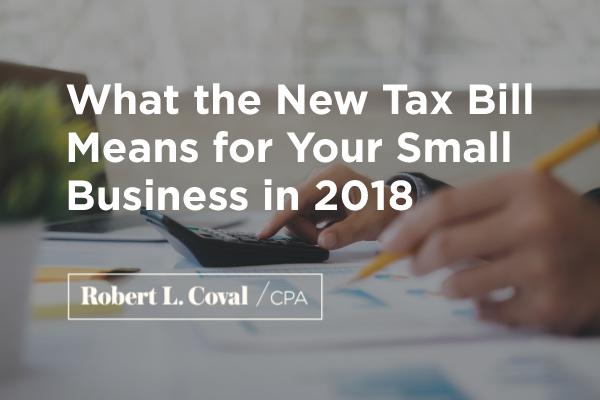 new tax bill small business